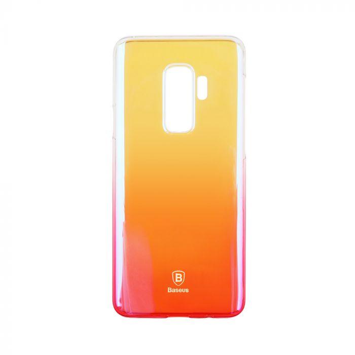 Carcasa Samsung Galaxy S9 Plus G965 Baseus Glaze Transparent Pink