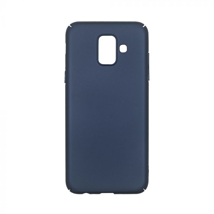 Carcasa Samsung Galaxy A6 (2018) Just Must Uvo Navy (material fin la atingere, slim fit)