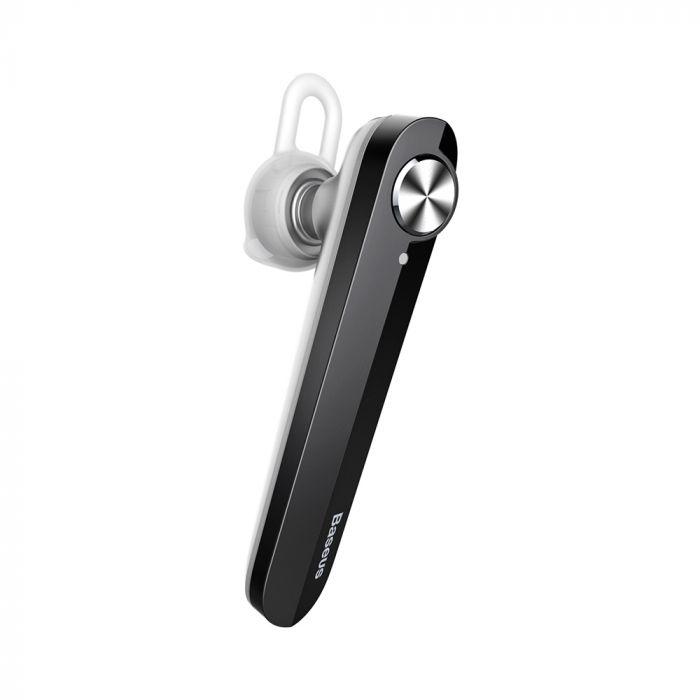 Casca Bluetooth Baseus A01 Silver & Black
