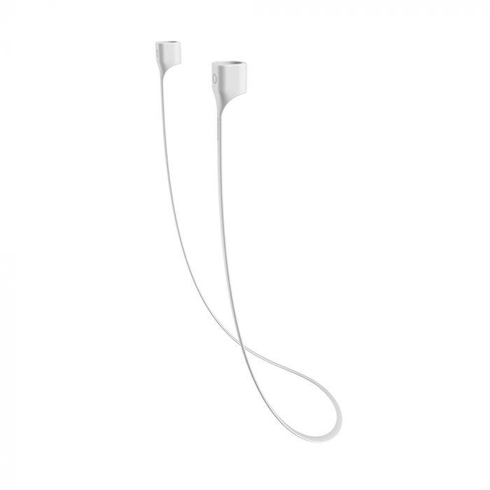 Cablu pentru Airpods Baseus Earphone Strap Gray White (magnetic)
