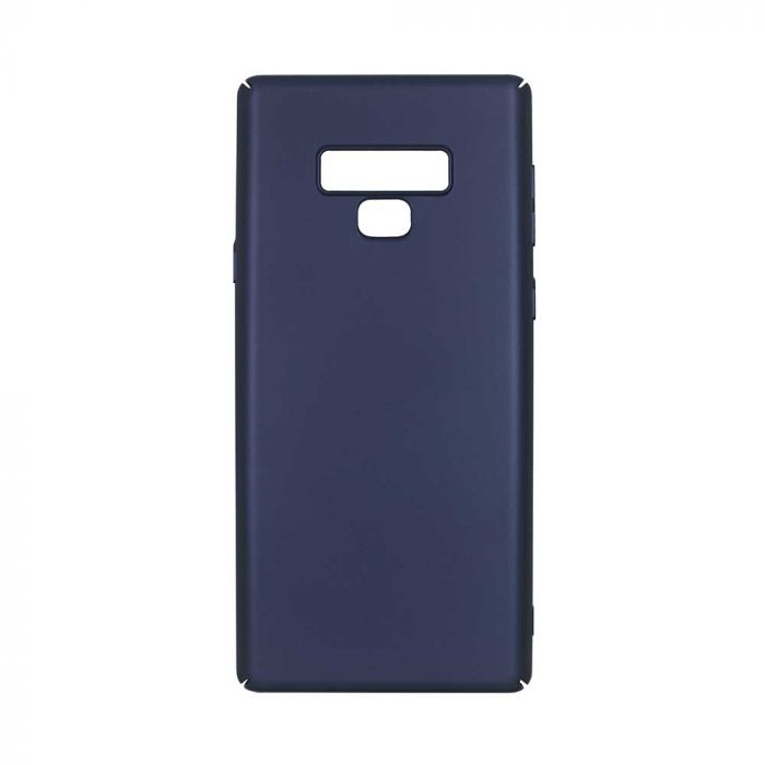 Carcasa Samsung Galaxy Note 9 Just Must Uvo Navy (material fin la atingere, slim fit)