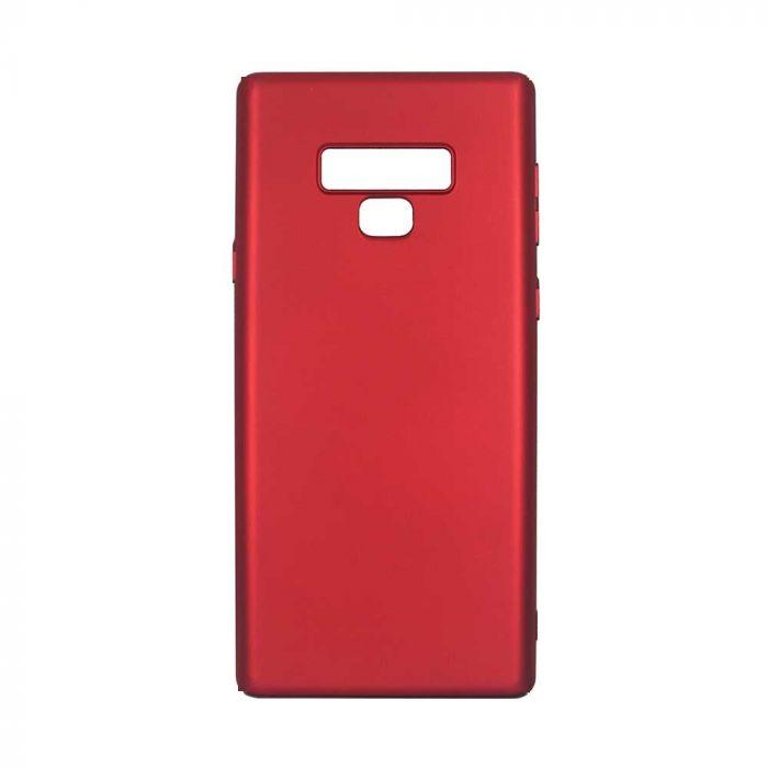 Husa Samsung Galaxy Note 9 Devia Silicon Nature Rubber Red