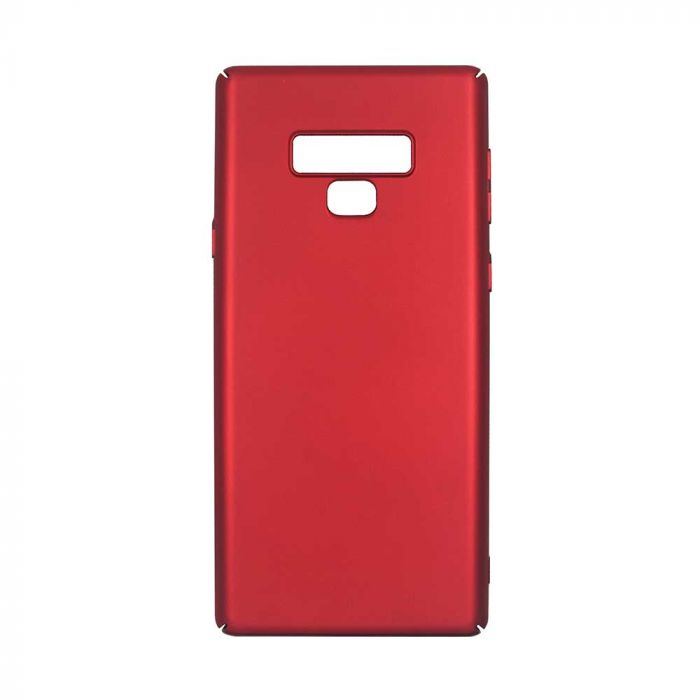 Carcasa Samsung Galaxy Note 9 Just Must Uvo Red (material fin la atingere, slim fit)