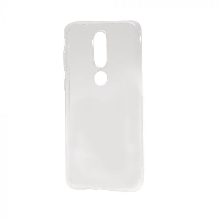 Husa Nokia 6.1 Plus (Nokia X6) Devia Silicon Naked Crystal Clear (0.5mm)