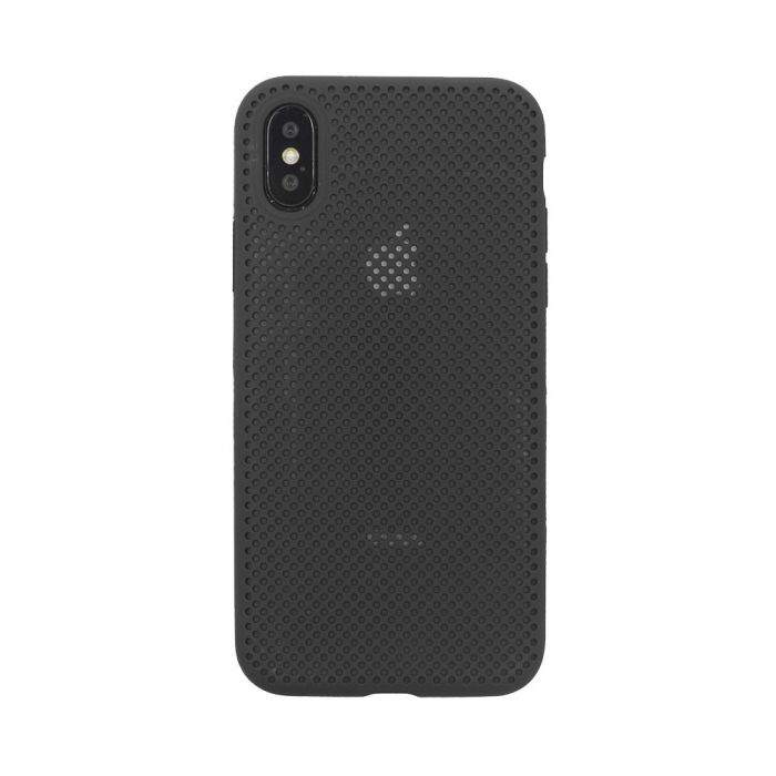 Husa iPhone XS / X Just Must Silicon Nest Black