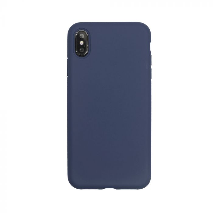 Husa iPhone XS / X Just Must Silicon Pantone Navy