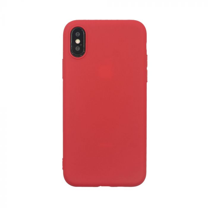 Husa iPhone XS / X Just Must Silicon Candy Red