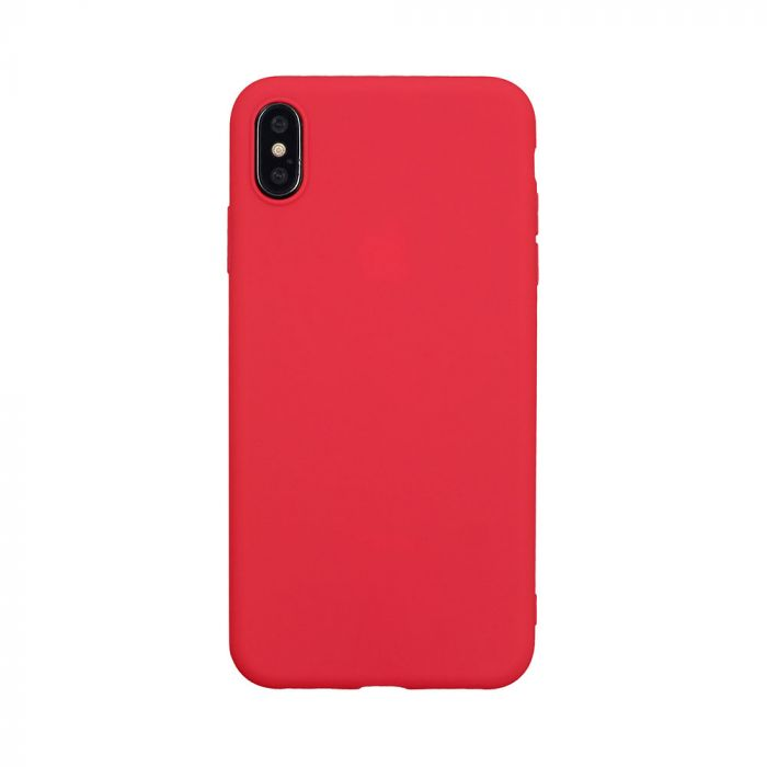 Husa iPhone XS Max Just Must Silicon Candy Red