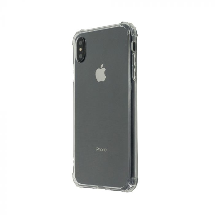 Husa iPhone XS / X Just Must Silicon Shock TPU Clear