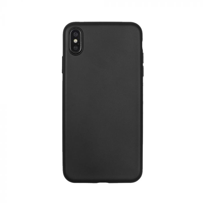 Husa iPhone XS / X Just Must Silicon Lanker Black