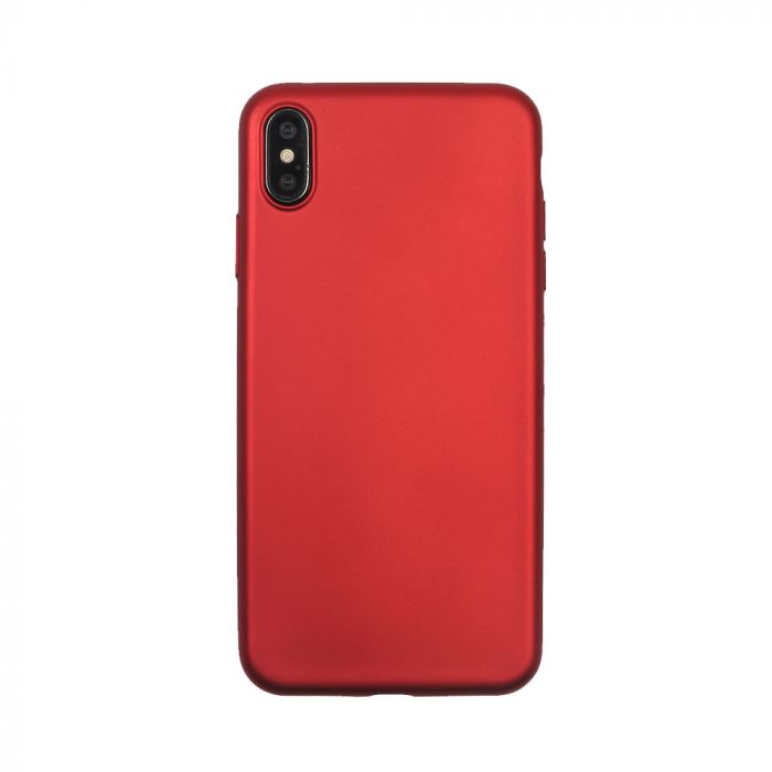 Husa iPhone XS / X Just Must Silicon Lanker Red