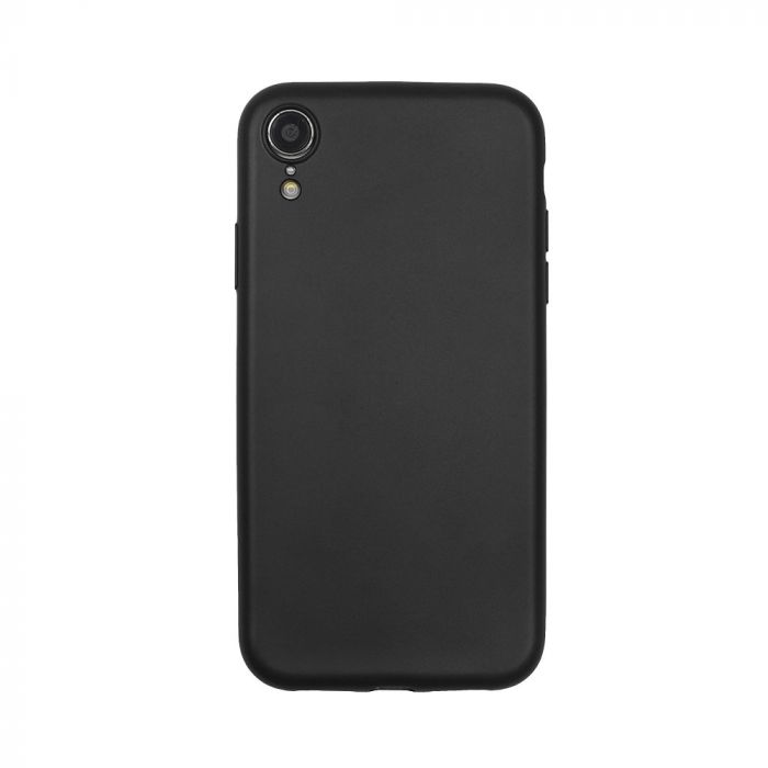 Husa iPhone XR Just Must Silicon Lanker Black