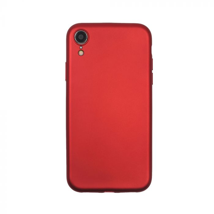 Husa iPhone XR Just Must Silicon Lanker Red