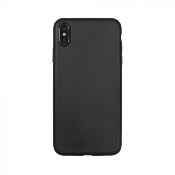 Husa iPhone XS Max Just Must Silicon Lanker Black