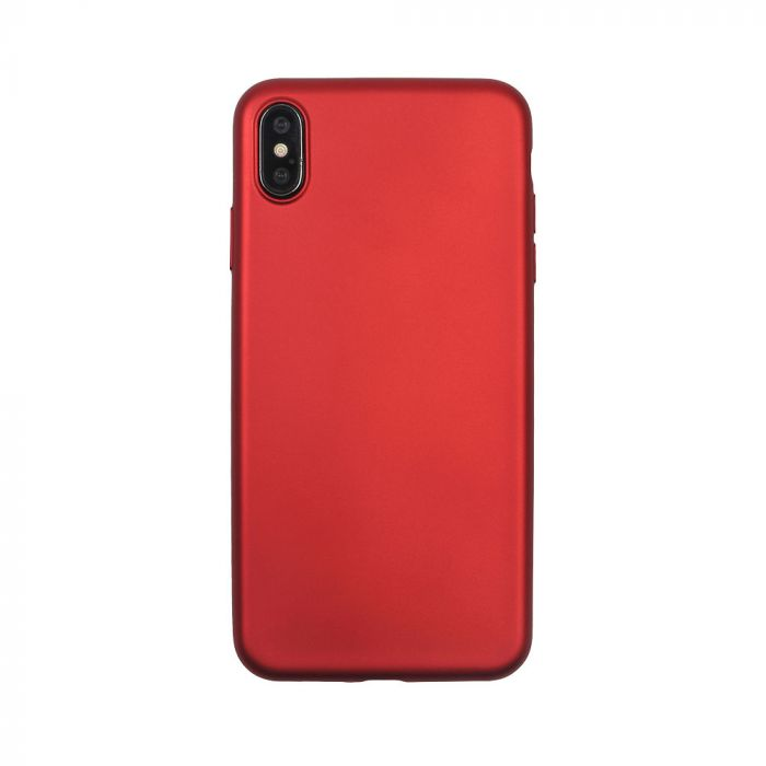 Husa iPhone XS Max Just Must Silicon Lanker Red