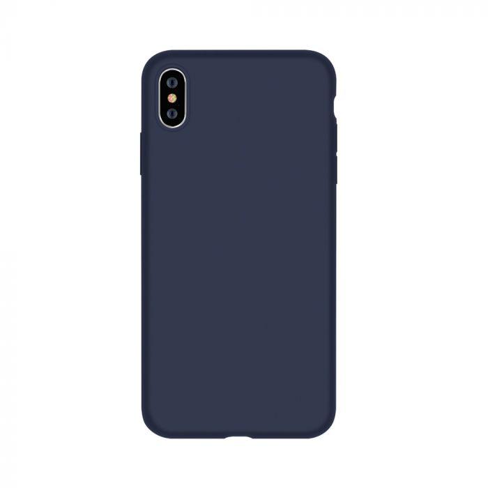 Husa iPhone XS / X Devia Silicon Nature Series Blue