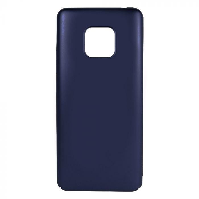 Carcasa Huawei Mate 20 Pro Just Must Uvo Navy (material fin la atingere, slim fit)