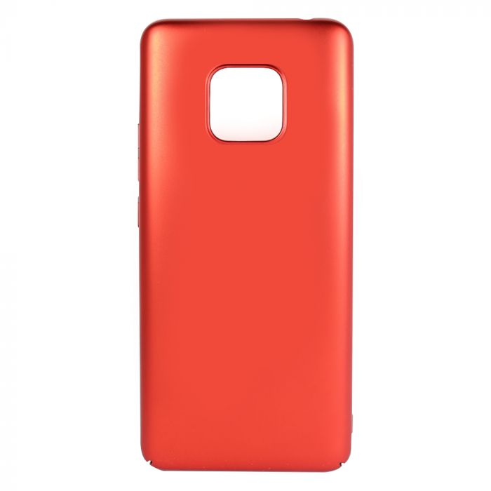 Carcasa Huawei Mate 20 Pro Just Must Uvo Red (material fin la atingere, slim fit)