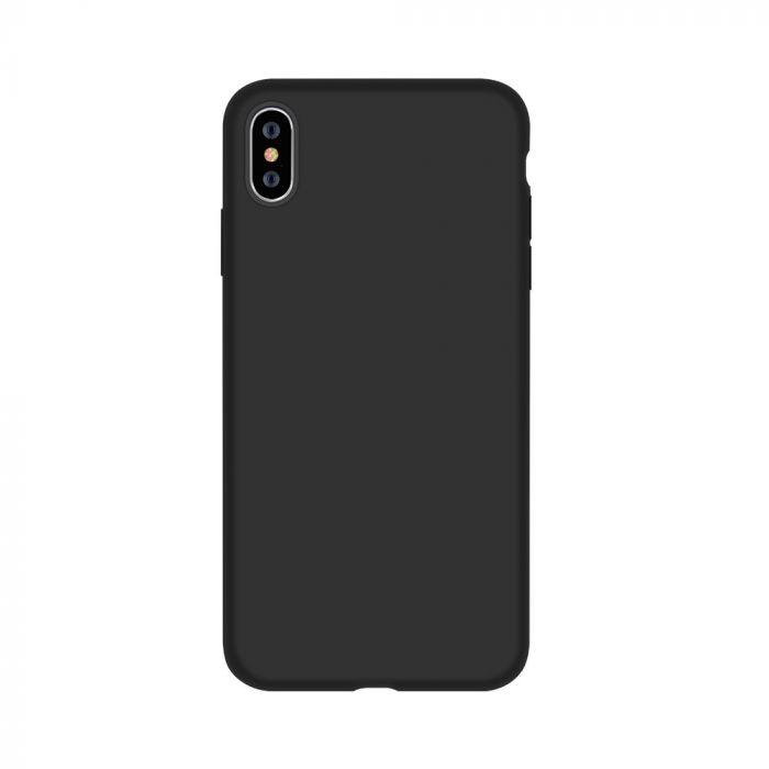 Husa iPhone XS Max Devia Silicon Nature Series Black
