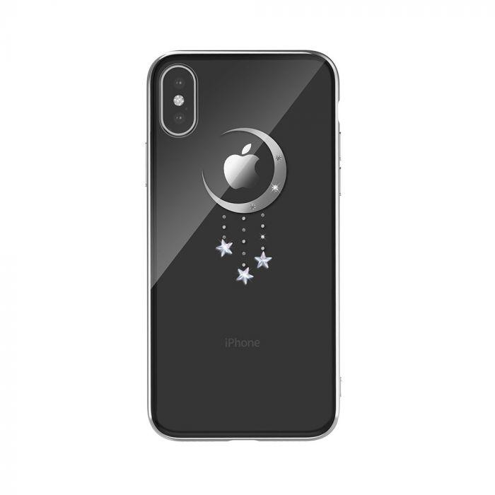 Carcasa iPhone XS / X Devia Meteor Silver