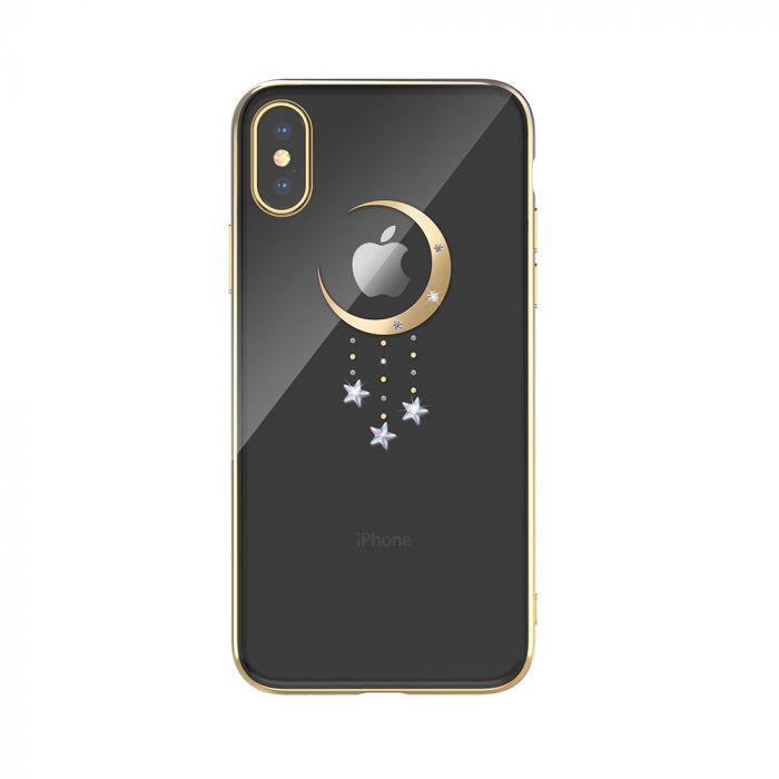 Carcasa iPhone XS / X Devia Meteor Gold