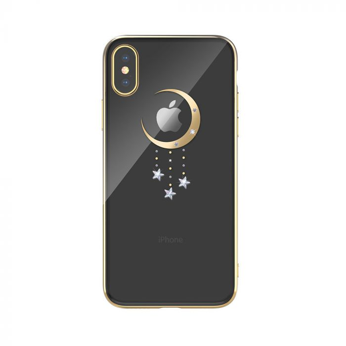 Carcasa iPhone XS Max Devia Meteor Gold