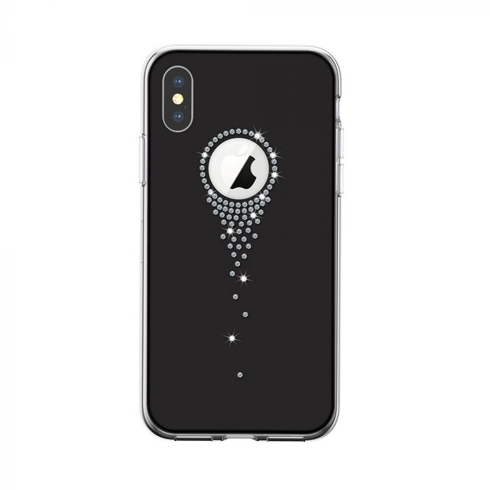 Carcasa iPhone XS / X Devia Angel Tears Black