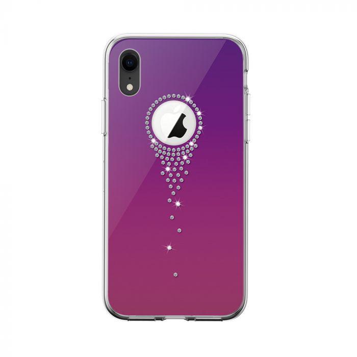 Carcasa iPhone XR Devia Angel Tears Gradual Purple