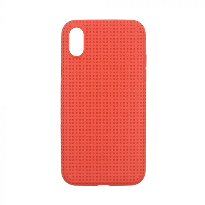 Husa iPhone XS Max Just Must Silicon Macaron Orange