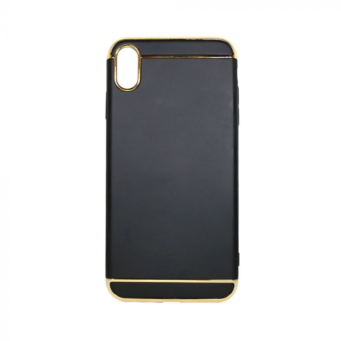 Carcasa iPhone XS Max Just Must Defense 3 piece Black