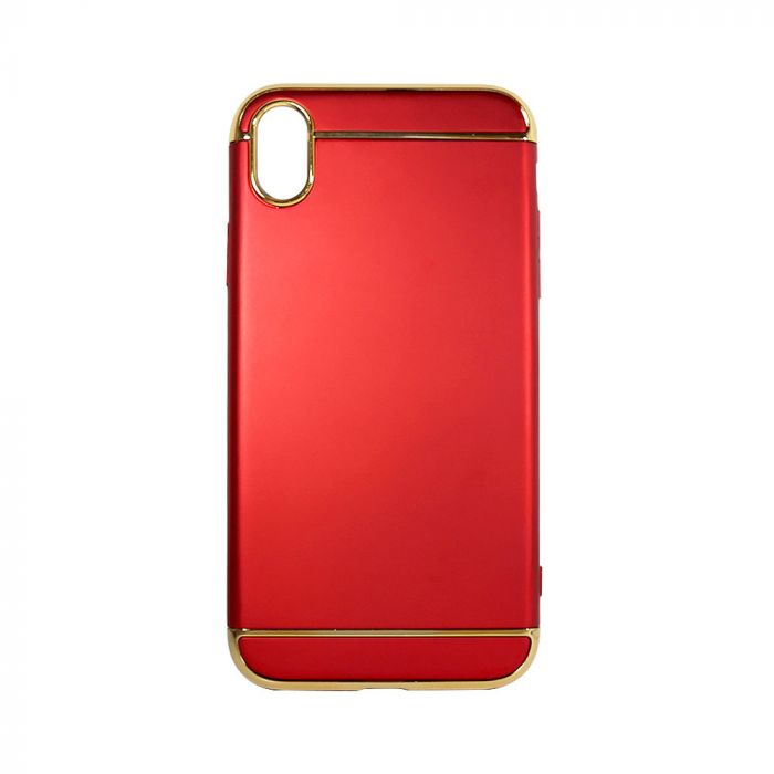 Carcasa iPhone XR Just Must Defense 3 piece Red