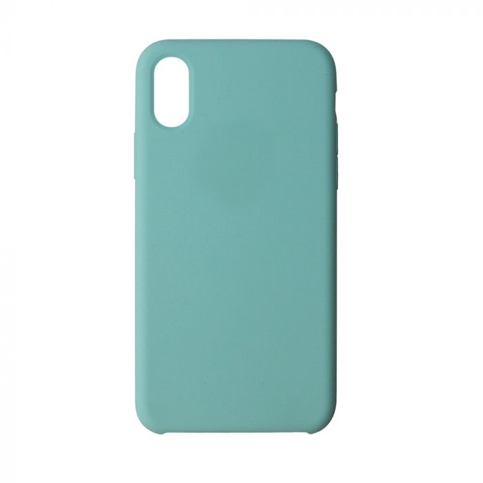 Carcasa iPhone XR Just Must Liquid Silicone Sea Blue