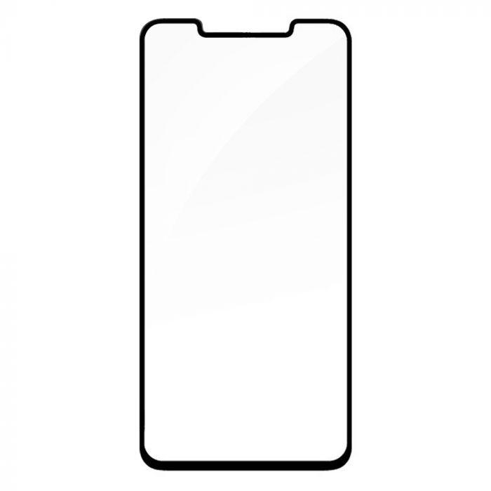 Folie Huawei Mate 20 Pro Devia Sticla Temperata 3D Black (margini curbate)