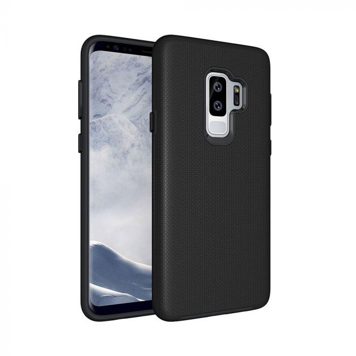 Carcasa Samsung Galaxy S9 Plus G965 Eiger North Case Black (shock resistant)