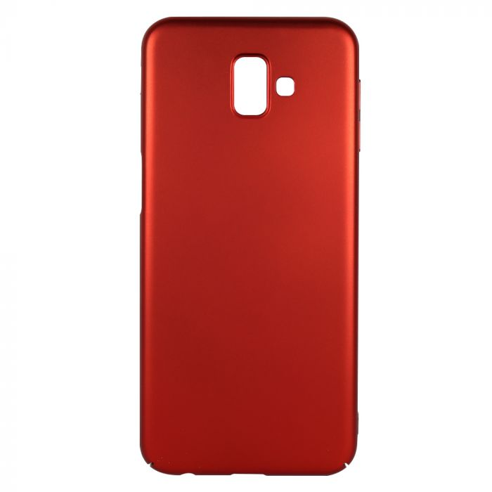 Carcasa Samsung Galaxy J6 Plus Just Must Uvo Red