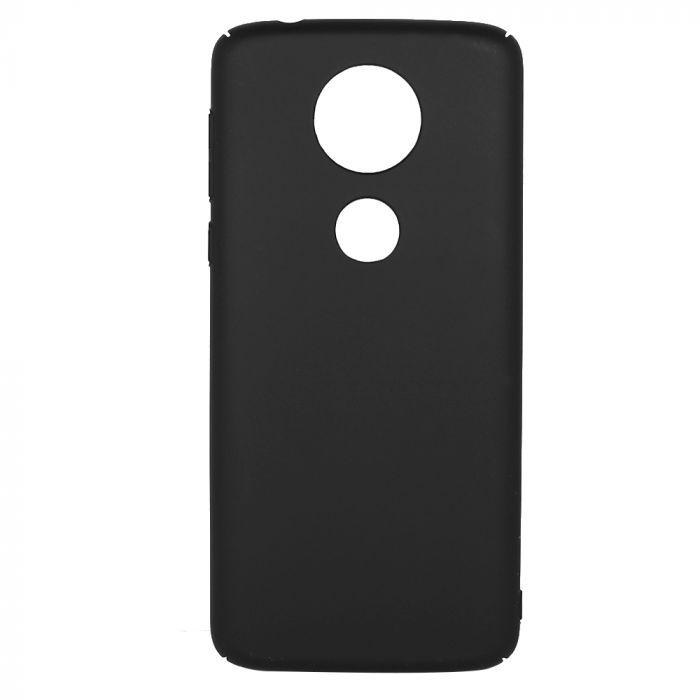 Carcasa Motorola Moto E5 Plus Just Must Uvo Black (material fin la atingere, slim fit)
