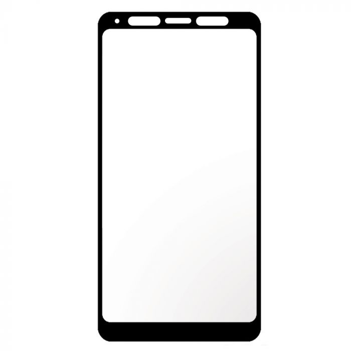 Folie Samsung Galaxy A9 (2018) Devia Frame Sticla Temperata Black