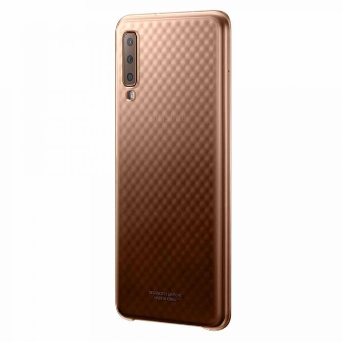 Carcasa Samsung Galaxy A7 (2018) Samsung Gradation Cover Gold