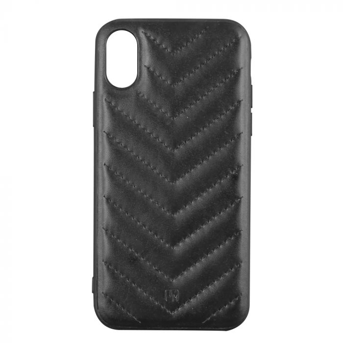 Carcasa iPhone XS / X Just Must Forla I Black (margini flexibile)