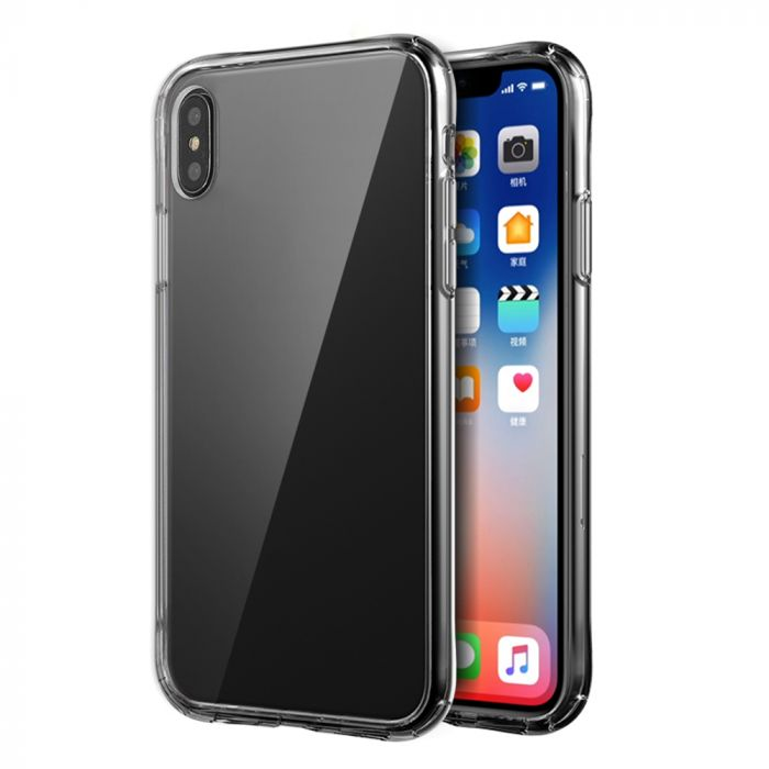 Carcasa Sticla iPhone XS / X Just Must Glass Max Clear