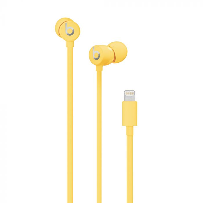 Casti Lightning Connector Beats urBeats3 Yellow (In-Ear)