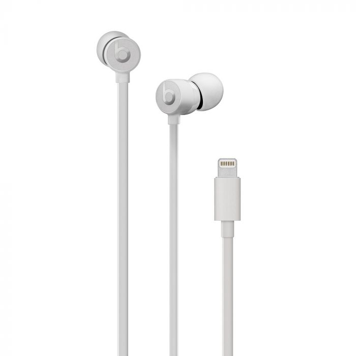 Casti Lightning Connector Beats urBeats3 Satin Silver (In-Ear)