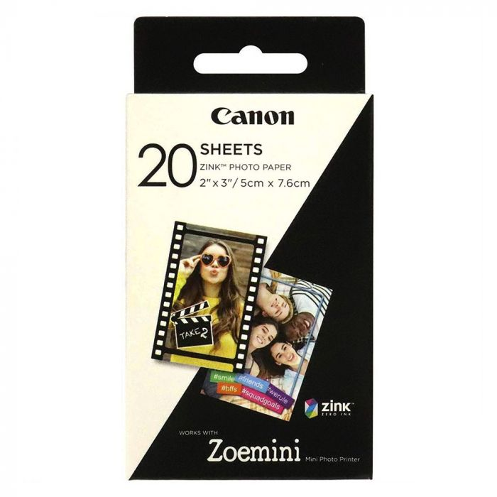 Canon Zoemini Set Hartie Foto Zink 20 buc (ZP-2030)