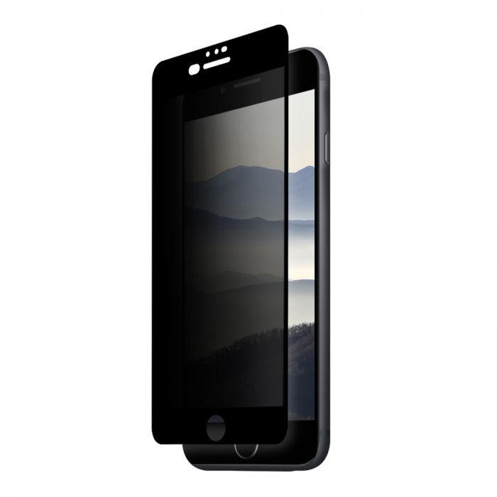 Folie iPhone 8 plus / 7 plus / 6s plus Eiger Sticla 3D Privacy Black