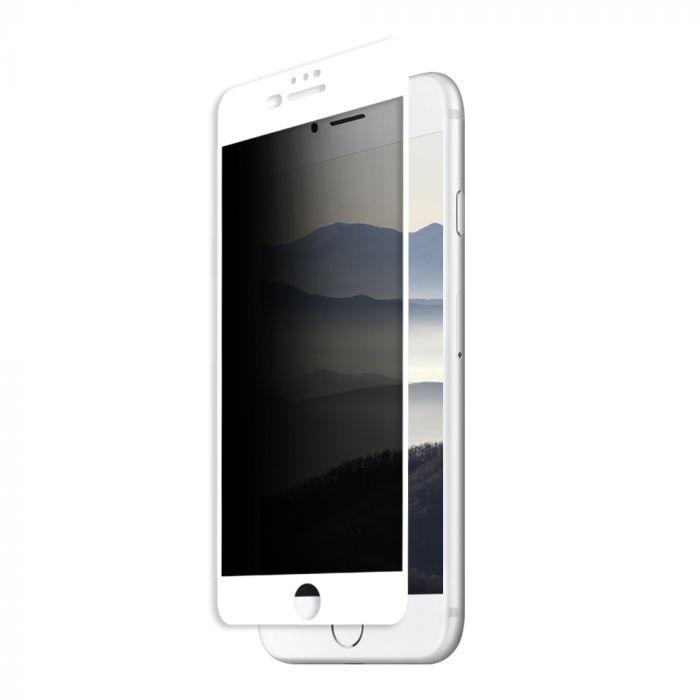 Folie iPhone 8 plus / 7 plus / 6s plus Eiger Sticla 3D Privacy White