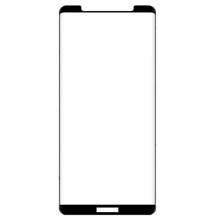 Folie Huawei Mate 20 Lite Lemontti Sticla Full Fit Black (1 fata, 9H, 0.33mm)