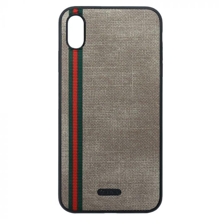 Husa iPhone XS Max Devia Sport Series Case Brown