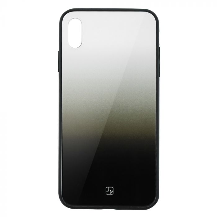 Carcasa Sticla iPhone XS Max Just Must Glass Gradient White-Black