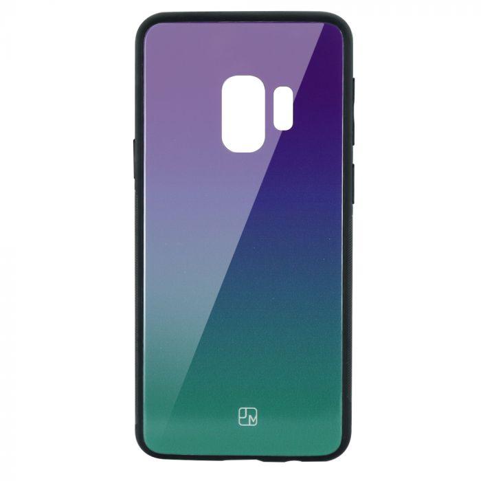 Carcasa Sticla Samsung Galaxy S9 G960 Just Must Glass Gradient Purple-Green