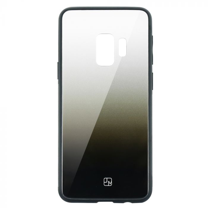 Carcasa Sticla Samsung Galaxy S9 G960 Just Must Glass Gradient White-Black
